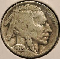 BUFFALO NICKEL   1935 D   $1 UNLIMITED SHIPPING