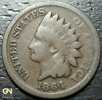1864 BRONZE INDIAN HEAD CENT  --  MAKE US AN OFFER  Y7506