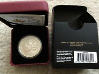 2014 CANADA ANA PRIVY MAPLE LEAF 1 OZ SILVER REVERSE PROOF COIN
