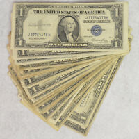 SET OF 45 CIRCULATED 1935 SILVER CERTIFICATES FR1607 FR1616