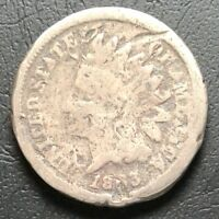 1863 COPPER NICKEL INDIAN HEAD CENT PENNY  PRICE REDUCED