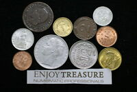 WORLD COINS USEFULL LOT LACQUERED FOR PRESERVATION A72 ZM12