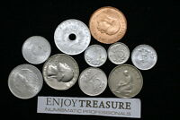 WORLD COINS USEFULL LOT LACQUERED FOR PRESERVATION A72 ZA14