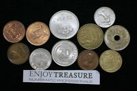 WORLD COINS USEFULL LOT LACQUERED FOR PRESERVATION A72 ZA33