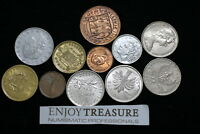 WORLD COINS USEFULL LOT LACQUERED FOR PRESERVATION A72 ZA36