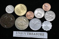 WORLD COINS USEFULL LOT LACQUERED FOR PRESERVATION A72 ZA45