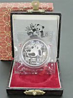 1989 CHINESE SILVER PANDA 1OZ PROOF SILVER COIN WITH ORIGINA