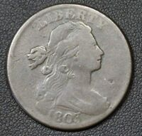 1803 DRAPED BUST COPPER LARGE CENT