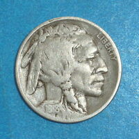 1918 D  BUFFALO NICKEL           FINE       FULL DATE       1600