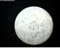 1852? 3 CENT SILVER TRIME WEAK  DATE 6815