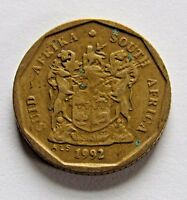 SOUTH AFRICA 10 CENTS 1992   FREE DOMESTIC SHIPPING
