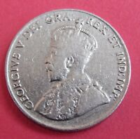 1923 5C CANADA 5 CENTS   KING GEORGE V