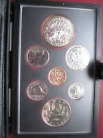 CANADA 1980 DOUBLE DOLLAR PROOF LIKE COIN SET WITH SILVER ARCTIC TERRITORIES