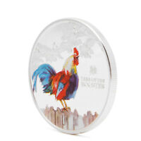 2017 YEAR OF THE ROOSTER ELIZABETH II NIUE COMMEMORATIVE COIN COLLECTION GIFT