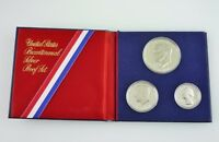 UNITED STATES BICENTENNIAL SILVER PROOF SET  1776 1976   5317
