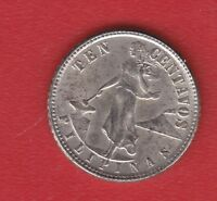 PILIPHINAS 10 CENTS  1945 SILVER