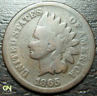 1865 INDIAN HEAD CENT      MAKE US AN OFFER   Y9446