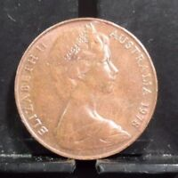 CIRCULATED 1978 2 CENT AUSTRALIAN COIN  112317 1