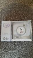 JEMIMA PUDDLE DUCK SILVER PROOF 50P COIN   LOW COA NUMBER: 0
