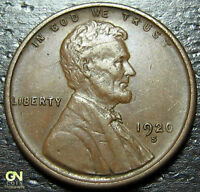 1920 S LINCOLN CENT WHEAT CENT  --  MAKE US AN OFFER  Y9681