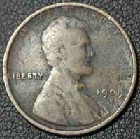 1909 S LINCOLN WHEAT CENT PENNY   CORROSION