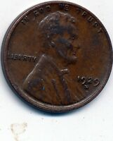 1929-D EXTRA FINE  LINCOLN CENT