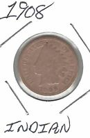UNITED STATES 1908 INDIAN CENT TAKE A LOOK