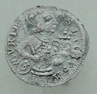 L6 MEDIEVAL SILVER COIN  20MM 1 25G INDEFINIED