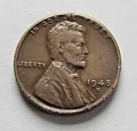 1948-D 1C LINCOLN WHEAT CENT - FREE DOMESTIC SHIPPING