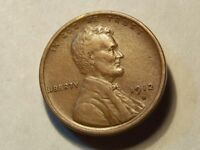 1912-D LINCOLN WHEAT CENT DETAILED AU WHEAT LINES MOMS ESTATE COIN 4001
