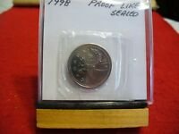 1998 CANADA QUARTER  DOLLAR TOP GRADE  25 CENT PIECE  98  PROOF LIKE  SEALED