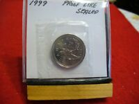 1999  CANADA   QUARTER  DOLLAR   SEALED HIGH  GRADE  99 COIN   PROOF LIKE