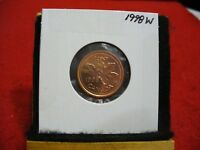 1998 W  CANADA  1  CENT COIN  PENNY  PROOF LIKE    98W  HIGH  GRADE  SEALED