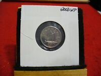 2003 WP  CANADA  DIME  10 CENTS  TOP GRADE  03  PROOF LIKE  SLIGHTY OFF STRUCK