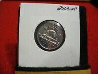2003 WP  CANADA 5 CENT COIN  NICKEL  PROOF LIKE    03WP   HIGH  GRADE  SEALED
