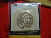 1965 CANADA SILVER HALF  DOLLAR TOP GRADE  50 CENT PIECE  65  PROOFLIKE  SEALED