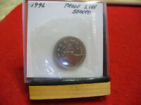 1996 CANADA QUARTER  DOLLAR TOP GRADE  25 CENT PIECE  96  PROOFLIKE  SEALED