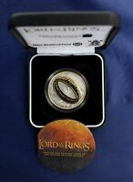 NEW ZEALAND   2003   SILVER PROOF COIN  LORD OF THE RINGS COIN