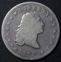 1795 FLOWING HAIR SILVER DOLLAR - FLOWING HAIR -