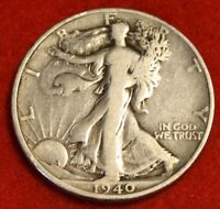 1940-S 50C WALKING LIBERTY HALF DOLLAR EXTRA FINE  BEAUTIFUL COIN CHECK OUT STORE WL343
