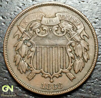 1868 2 CENT PIECE  --  MAKE US AN OFFER  Y9274