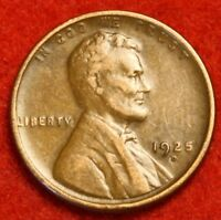 1925-D 1C LINCOLN WHEAT CENT PENNY EXTRA FINE  COLLECTOR COIN CHECK OUT STORE LW1740