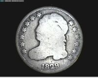 1829 CAPPED BUST SILVER DIME   1068