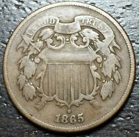 1865 2 CENT PIECE  --  MAKE US AN OFFER  Y8552