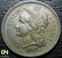 1867 3 CENT NICKEL PIECE  --  MAKE US AN OFFER  G2145