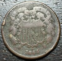 1864 2 CENT PIECE  --  MAKE US AN OFFER  Y8548