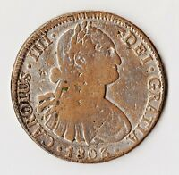 GNL 1803 O:C/R:MOFT 002 FINER OF TWO KNOWN CONTEMPORARY EIGHT REALES INDENTS