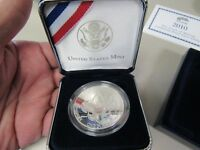 2010 BOY SCOUT OF AMERICA CENTENNIAL SILVER PROOF DOLLAR  11308 PROOF Y
