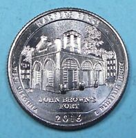 2016 D HARPERS FERRY WEST VIRGINIA WV ATB WASHINGTON QUARTER UNCIRCULATED BU 868