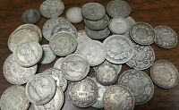 OLD FRANCE SILVER FRANCS COLLECTION LOT